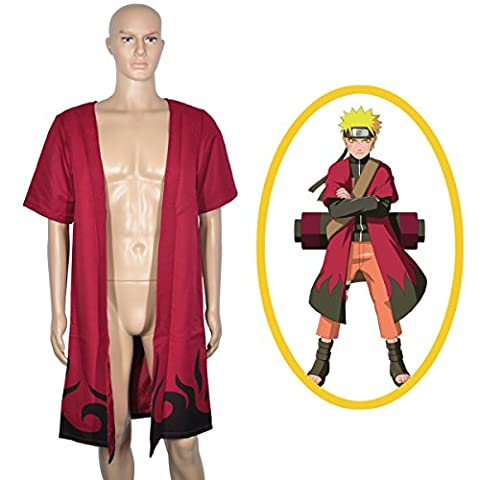 CoolChange Mantel von Naruto Uzumaki im Eremiten Modus (S)