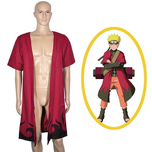 n Naruto Uzumaki im Eremiten Modus (L) (Naruto Deidara Cosplay Kostüm)