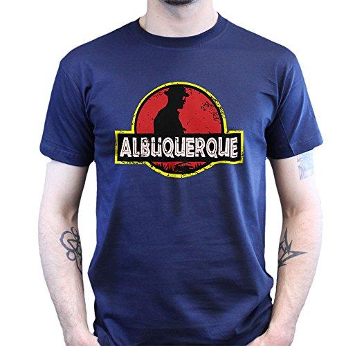 Jurassic Albuquerque Heisenberg Breaking New Mexico Bad T-shirt Jungle Green