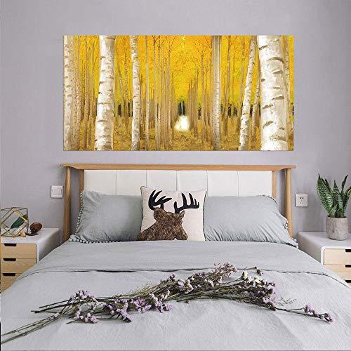 Aspen forest 3D Wandtapeten PVC Selbstklebende Wandaufkleber Tür/Treppe aufkleber Wohnzimmer Küche Tapetenaufkleber Home