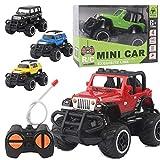 Omiky® Mini Drift Geschwindigkeit Fernbedienung Truck RC Geländewagen Auto Kinder Spielzeug Geschenk (Schwarz)