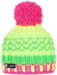 Wollig Wurm Winter Lolly Style Beanie Mütze mit Ponpon Damen Herren HAT HATS Fashion SKI Snowboard Morefazltd (TM)