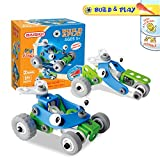Joy-Jam Building Toys for 5+ Year Old Boys Building Blocks Construction Sets Assembly Off-road Racing Car Cartoon Toy Cars Christmas Birthday Gifts BSQ-6829