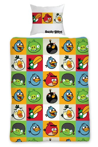 Image of Angry Birds Duvet Cover & Pillowcase