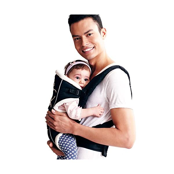"Bebamour Brand Baby Carrier 3 in 1 Front and Back Carrier for Baby Functional Baby Carrier Backpack (Black) bebear Soft mesh and cotton make baby comfortable in all position; The baby carrier has all-around head support so that baby 's head can be protected well. Max.Capacity: 3.5-12KG; Baby Age: from 3-24month; With English user manual; Easy to carry according to the manual. Size: L12.60""*H8.6""*W4.0""(L32*H22*W10cm); The carrier's waist band can be lengthen to 45.27""(115cm) which is suit for each man and woman. 3"