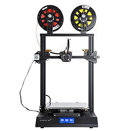 Creality 3D-Drucker Upgrade CR-X, Druck doppelfarbig mit Touchscreen 4,3 Zoll DIY Kit, maximale Druckgröße 300 x 300 x 400 mm