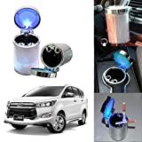 Oshotto Premium Multiple LED 68 Ash Tray for Toyota Crysta - Multicolor