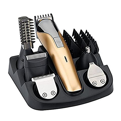 WINLINK All in One Rechargeable Electric Hair Grooming Kit,Nose Ear Body Trimmer Beard Mustache Shaver Designer Hair Clippers Cutter For Barber With Combs