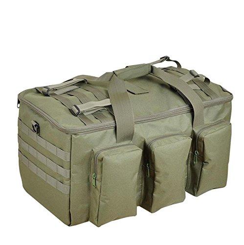 BM Trekking Outdoor Zaino multifunzionale impermeabile grande capacità di uomini e donne borsa borsa all'aperto , jungle camouflage army green