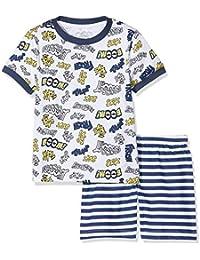 Chicco Pigiama Manica Corta, Pijama para Bebés, Blanco (Bianco 033) 68 (