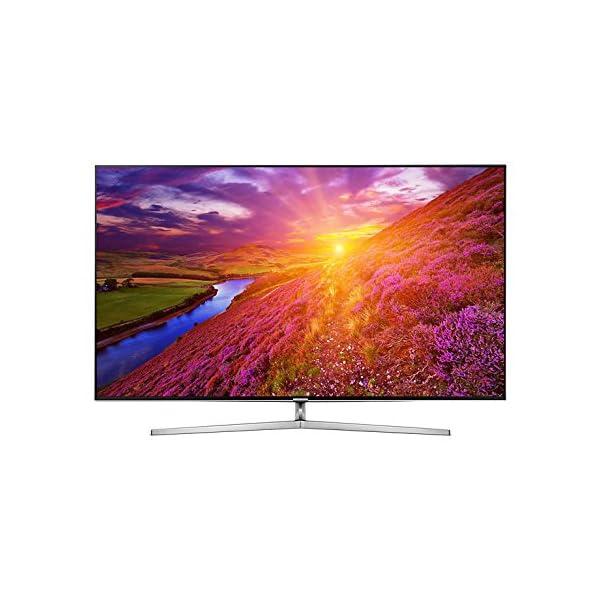 Samsung Ue75ks8000t 75zoll 4k Ultra Hd Smart Tv Wlan Schwarz Silber