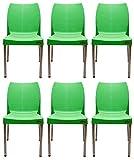 #4: PRIMA - Nova Chair (Green Color) - Set Of 6.