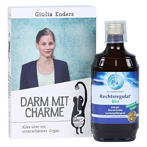 Darm mit Charme: Alles über ein unterschätztes Organ + Dr. Niedermaier Pharma Rechtsregulat (350 ml)