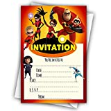 Best Party Supplies Pens - Glossy Party Invitations Cards inspired by Incredibles 2 Review
