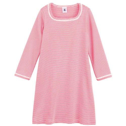 Petit Bateau -  Camicia da notte  - ragazza rosa 4 anni