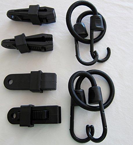 Die original Gust Guard-Sichern Sie Ihre Bezüge vom Blowing Away-Kleine 30,5cm (Motorrad, Fahrrad, Picknick Tisch abdeckt, Abdeckungen, etc..)