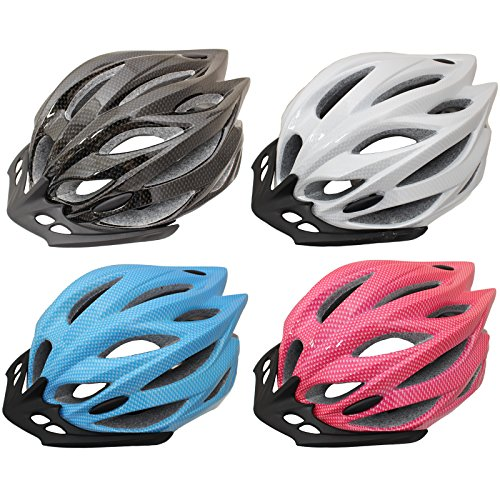 PedalPro Mens/Ladies Adult Bike Helmet - Blue