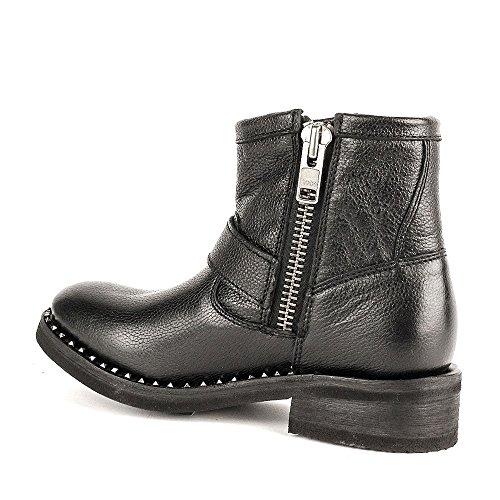 Ash Chaussures Speed Bottines Noir Femme Noir