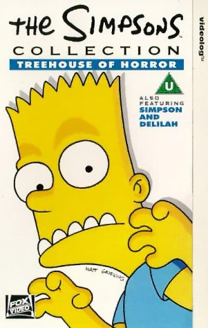Simpsons-Treehouse of Horror [VHS]