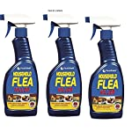 household flea killing spray for dog,bed,cat carpet furniture (500ml)bed by 151 (pack of 3 sprays) HOUSEHOLD FLEA KILLING SPRAY FOR DOG,BED,CAT CARPET FURNITURE (500ml)BED BY 151 (PACK OF 3 SPRAYS) 51C8BYt8OBL