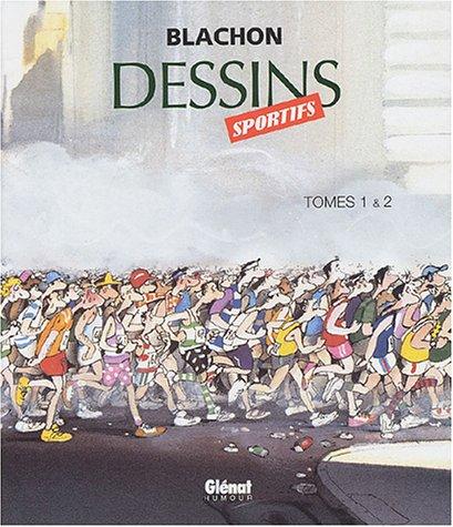 Dessins sportifs, coffret de 2 tomes par Blachon