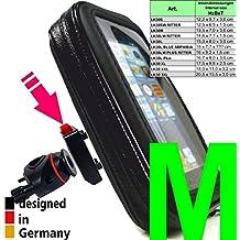 """LK30M-Soporte para teléfono móvil universal a aproximadamente 4,7 """"/ 11,94 cm de MTB de la bicicleta de la bici de liberación rápida, por ejemplo: Teléfono inteligente iPhone de Apple 7 6S SE, Samsung Galaxy S7 S6 A3 (2016), S4 uno etiqueta"""