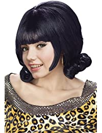 Mr176010 Wig Black Flip Long Bangs With Stretch Net Under Cap Polyblend