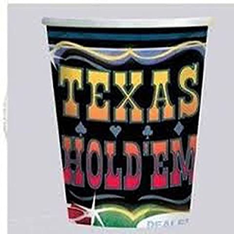 Texas Party 9oz Cups 8ct