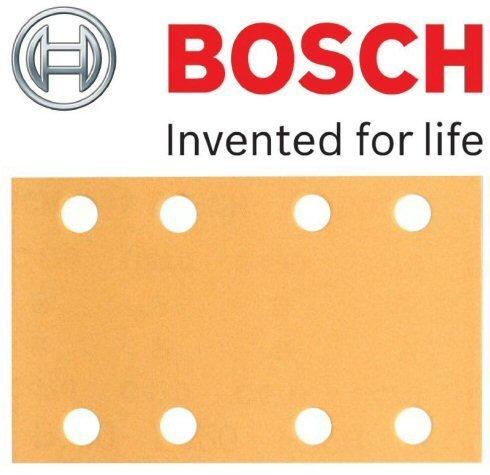 Preisvergleich Produktbild Bosch originalen Velcro Best for Wood Schleifblätter, Grit=120 (zugeschnitten - Bosch PSS 2 A, PSS 200 A, PSS 250 A, PSS 250AE, GSS 23AE, GSS 230 A, GSS 230AE, GSS 230AVE Schleifer) (keine Bosch Pt 2608607926) (, 1 Packung mit Blatt 50) C/W KeyTape STANLEY