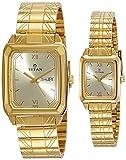 Titan NH15812488YM05 Bandhan Analog Gold Dial Couple Watch (NH15812488YM05)
