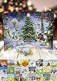 Mein allererster Adventskalender: mit 24 Pappbilderb?chern zum Herausnehmen