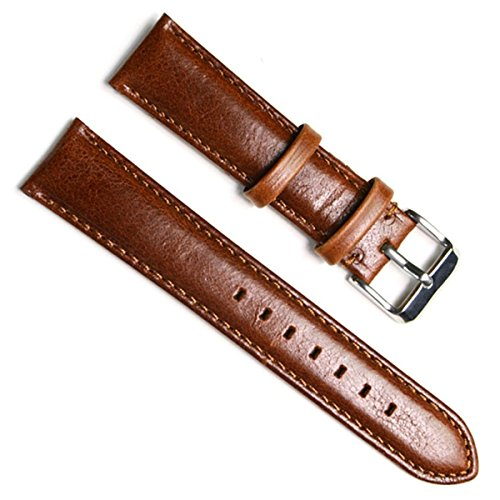 green-olive-22mm-handmade-vintage-replacement-cowhide-leather-strap-watch-band-oil-wax-leather-brown