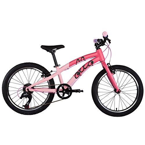 ollo Bikes - Kinderfahrrad 20 Zoll für Jungen und Mädchen von 6-8 Jahren - 8-Gang Schaltung - Engineered in Germany: Top-Qualität, Alu-Rahmen, Hochwertige Komponenten, Nur 9,0 kg (Pink/Schwarz)