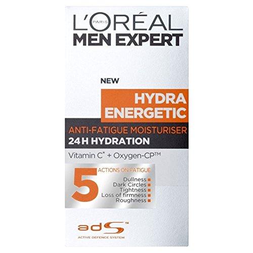 L'Oréal Paris Men Expert Hydra Energetic Anti-Fatigue Lotion (50ml) - Paquet de 6 L'Oréal Paris
