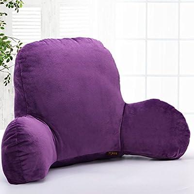 Kenmont Luxury Bedrest Reading Pillow Back Support Pillow Cushion Bed Rest Lounger    Lumbar Pillows - cheap UK light shop.