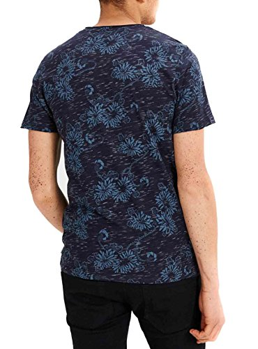 Jack & Jones Herren T-Shirt Marineblau