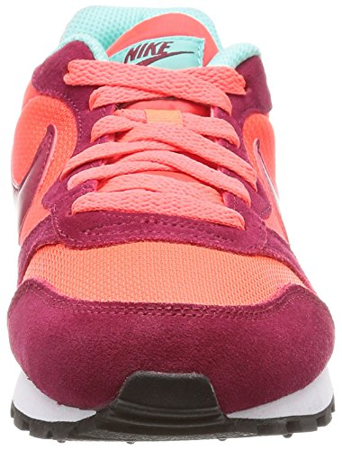 Nike 749869, Chaussures Femme Multicolore (Rojo/Coral)
