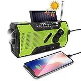 Die besten Notfall-Radio mit Solar- und Kurbel Ladegeräte - Odoland Solar Radio Multifunktion Outdoor Radio –Taschenlampe Kurbelradio Bewertungen