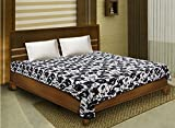 Bombay Dyeing 100% Cotton Double Bed Dohar/AC Blanket- White Back