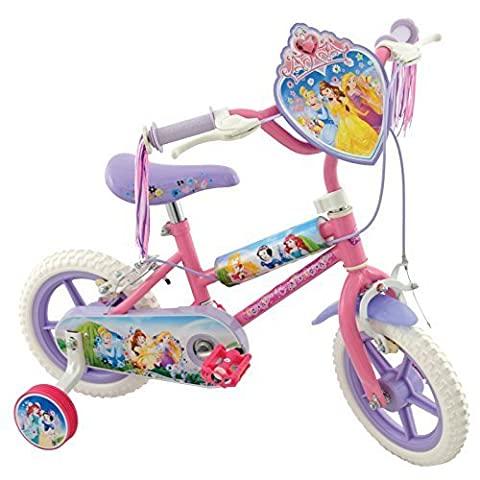 Disney Princesses New Kids 12 Bicycle Puncture Proof Stabilisers Childrens Bike by Disney