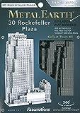 Metal Earth Fascinations MMS061 - 502559, Rockefeller Plaza, Konstruktionsspielzeug, 2 Metallplatinen, ab 14 Jahren