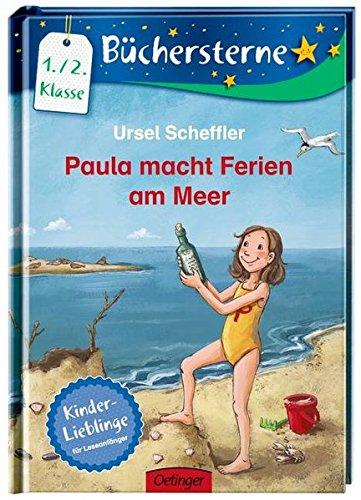 Paula macht Ferien am Meer: Mit 16 Seiten Leserätseln und -spielen (Büchersterne)