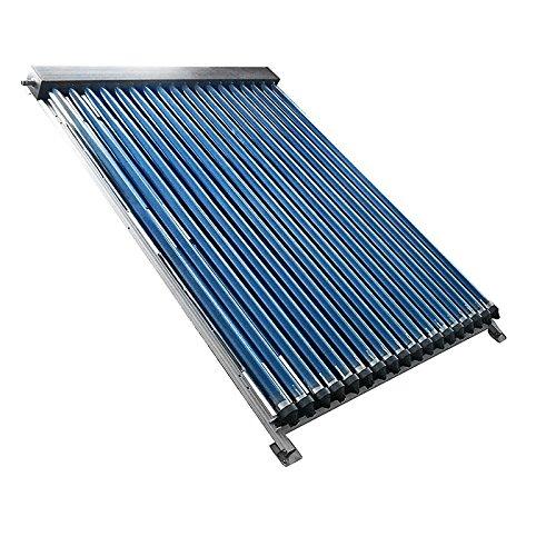 RP-SOLAR Solaranlage Warmwasser Vakuumröhren Einzelkollektor, 3. 18m², SRK20 Röhren