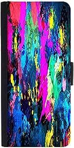 Snoogg Splash Paint Jobdesigner Protective Flip Case Cover For Xiaomi Redmi Note