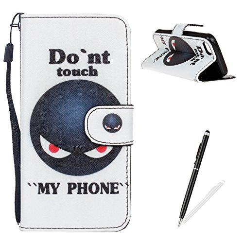 feeltech-iphone-5-5s-se-caseelegant-pu-leather-flip-wallet-cover-magnetic-closure-printing-funny-dra