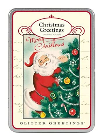 Cavallini Postkartenset Weihnachtsgrüße, chritsmas greetings
