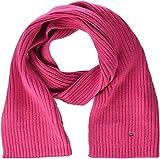 Tommy Hilfiger Unisex Schal PIMA Cotton Cashmere Scarf, Rosa (Pink Flambe 902), One Size (Herstellergröße: OS)