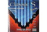 Thomastik Saite für Klassik-Gitarre Classic S Séries. Precision Light Plain Steel. Ball end<p><br>- Chrome Steel. Flat Wound. Ball end<p><br>-