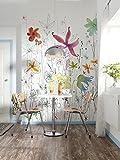 """Komar XXL2–022184x 248cm""""Joli motif floral papier peint–Multicolore (Lot de 2)"""
