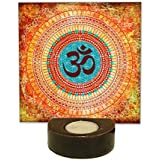 TYYC Home Decorative Candle Holders Diwali Gift Items Beautiful Om Tea Light Holder Gift Pack Combo Of 1 T-light Holders